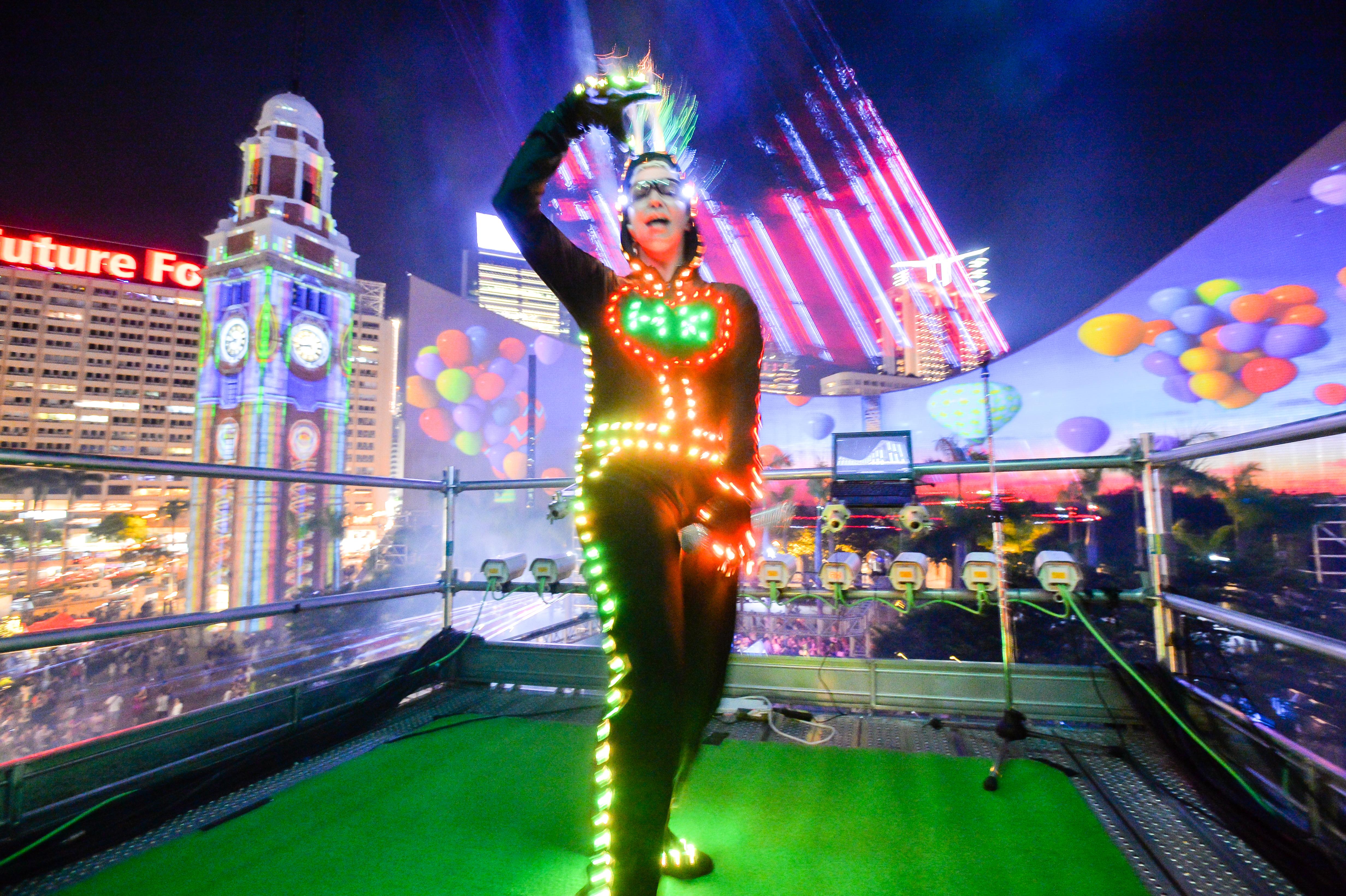 3D Light Show hong kong pulse 3d light show presents the ultimate summer bash