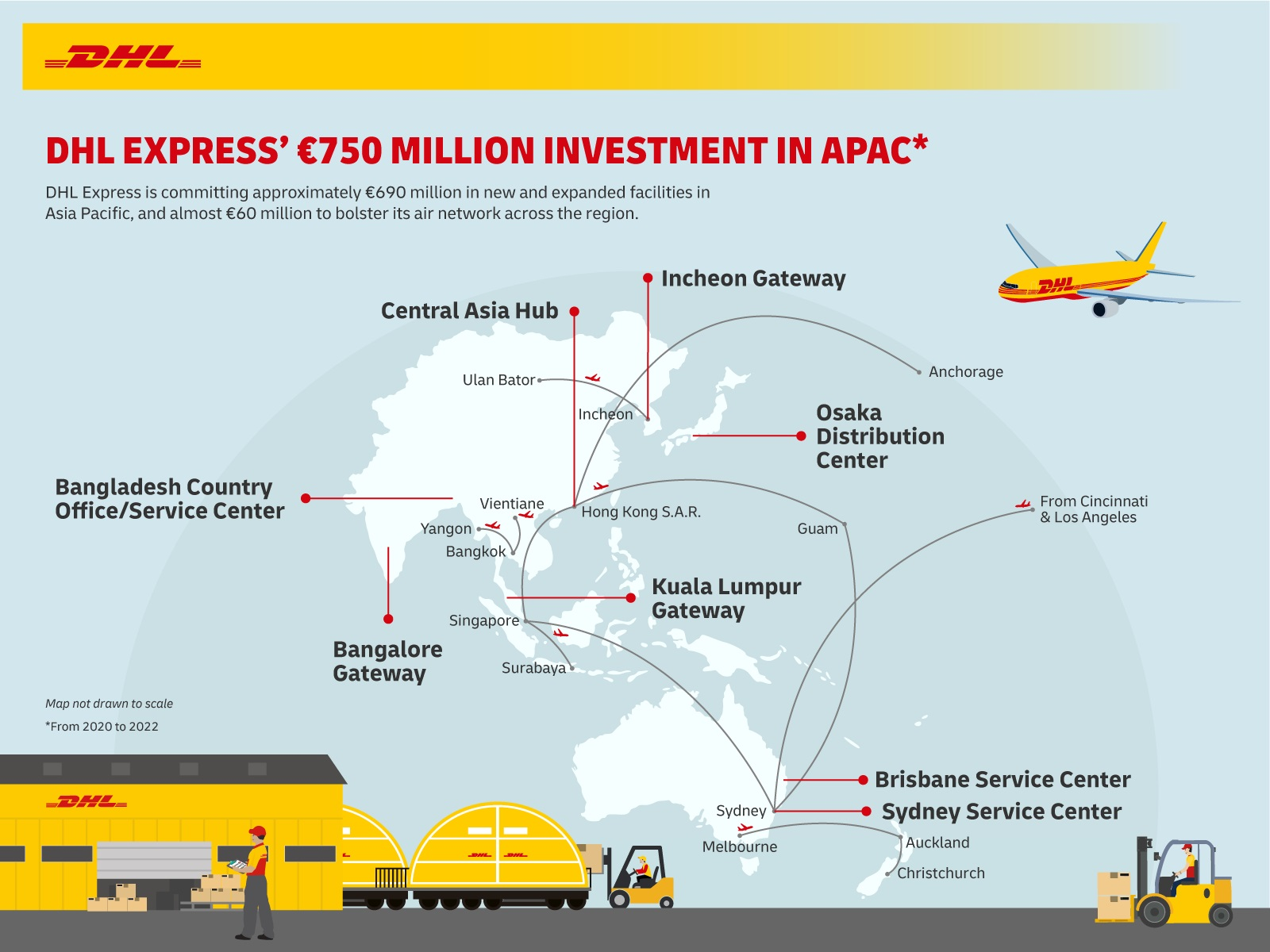 DHL Express invests ~EUR750 million in Asia Pacific on the back of e-commerce growth