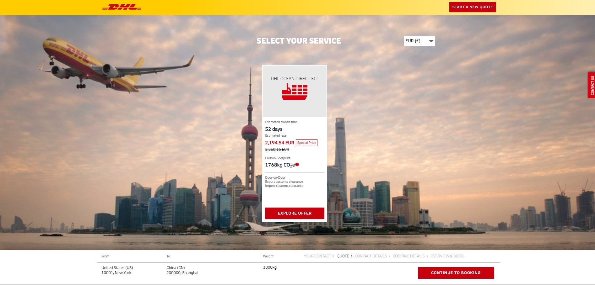 DHL further expands online booking service for ocean transports - Brand Spur