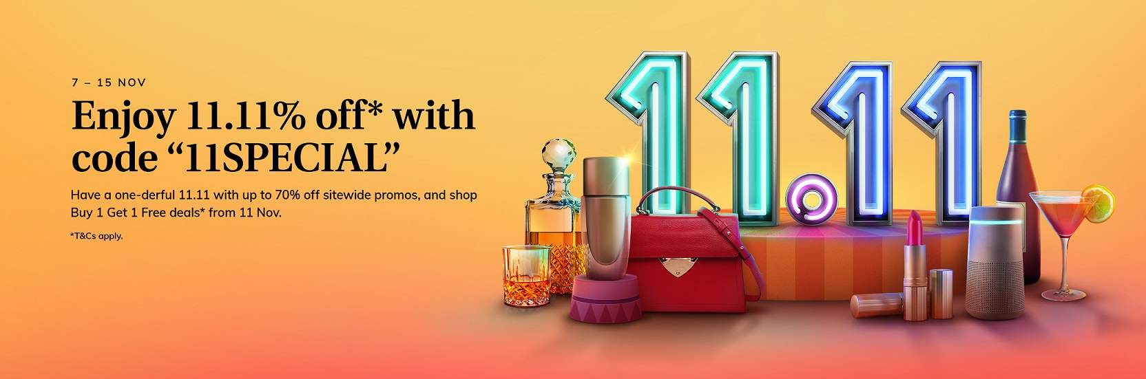 Go Big With iShopChangis 7th Anniversary and 11.11 Sales With Exclusive Discounts and Promotions