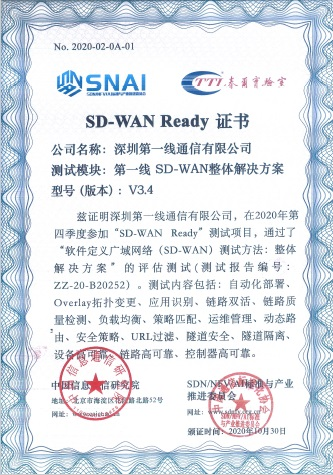 DYXnet has been further recognized with SD-WAN Ready certification for its exceptional total SD-WAN solutions