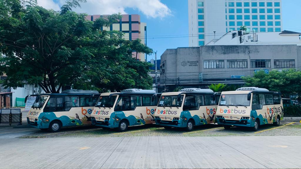 China Dynamics Launches Electric Buses in Davao Philippines