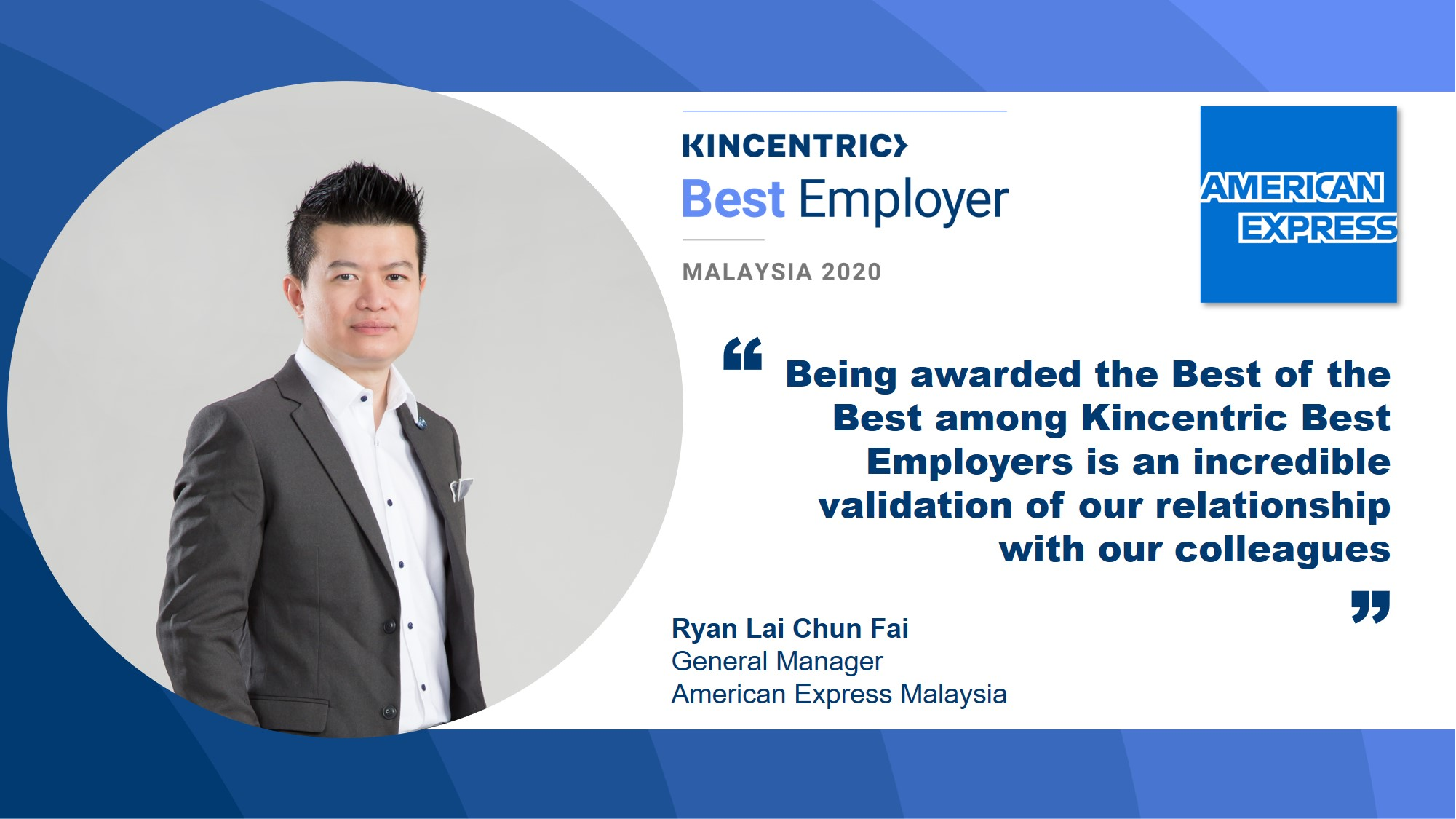 American Express Malaysia on building a culture of transparency and trust through colleague experience