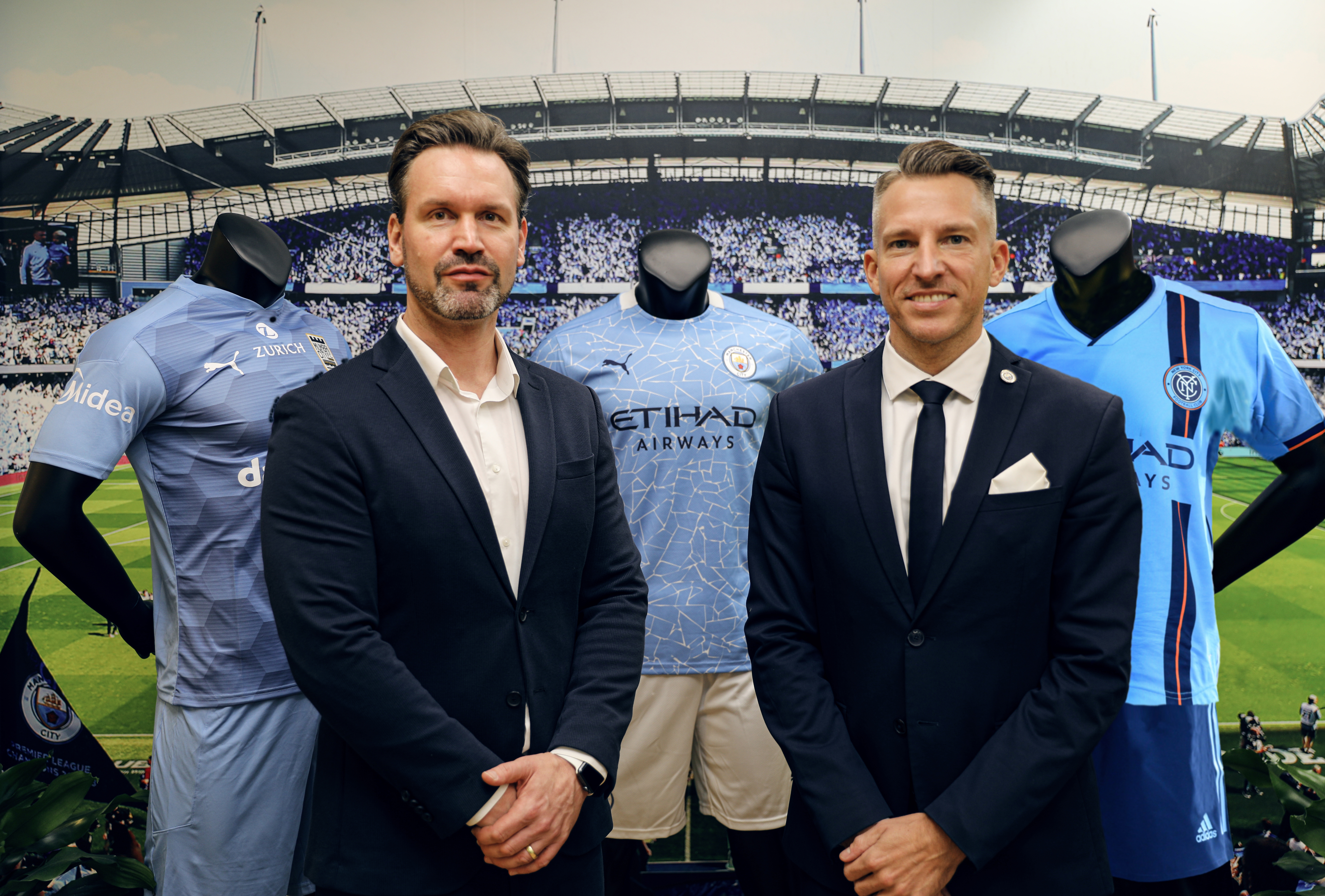 Midea Expands Partnership with Manchester City  City Football Group