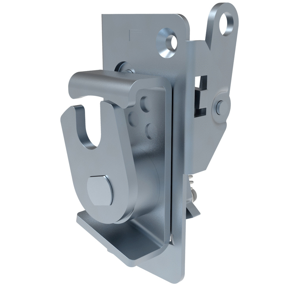 New Debris Resistant Rotary Latch From Southco Offers Concealed Latching And Remote Actuation