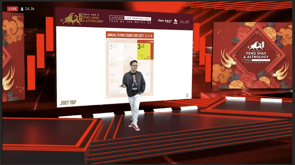 Largest Annual Feng Shui And Astrology Livestream Event By World No.1 Expert In Feng Shui And Chinese Metaphysics – Joey Yap