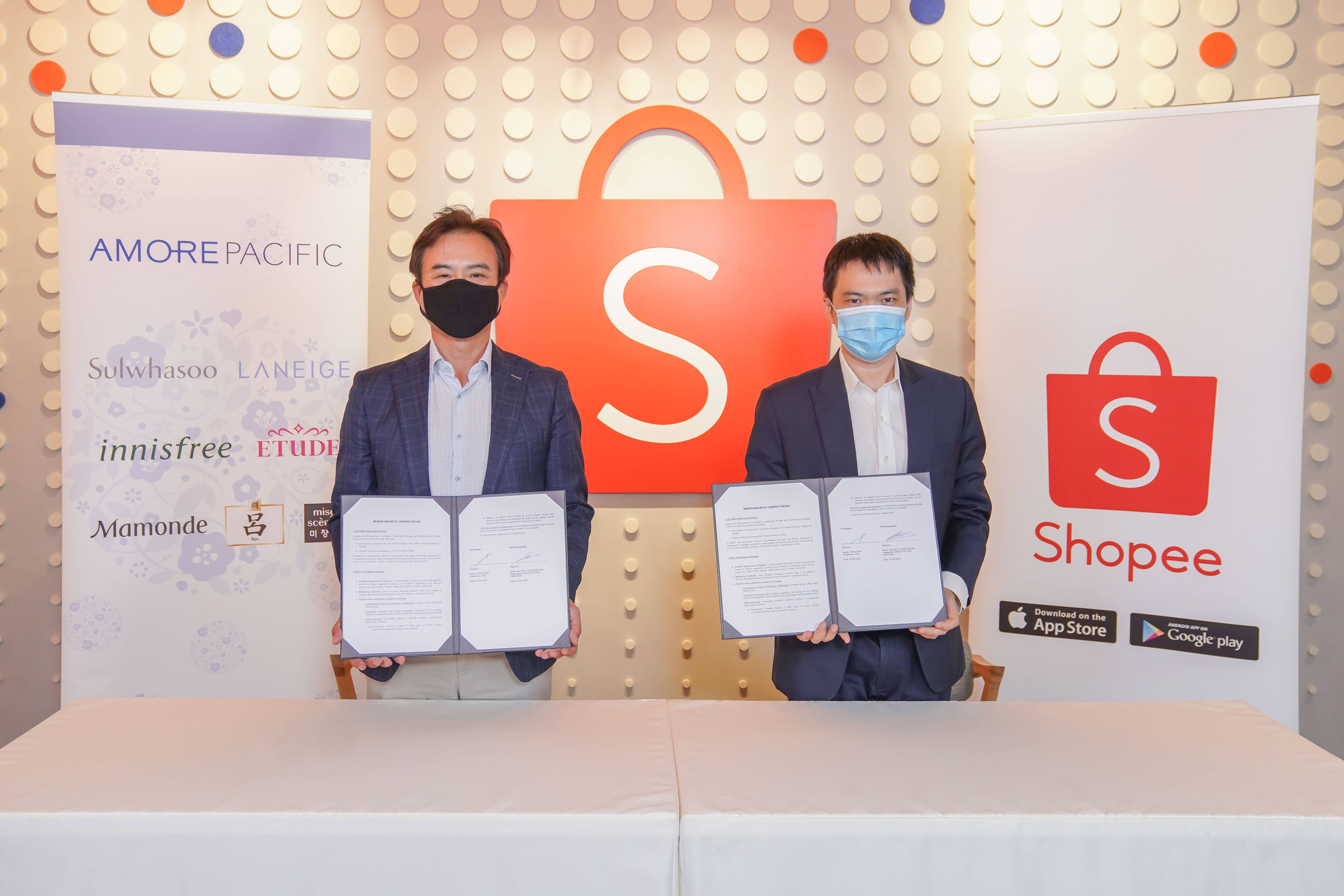 Amorepacific inks Memorandum of Understanding with Shopee to boost growth of K-beauty and reach more beauty shoppers in Asia