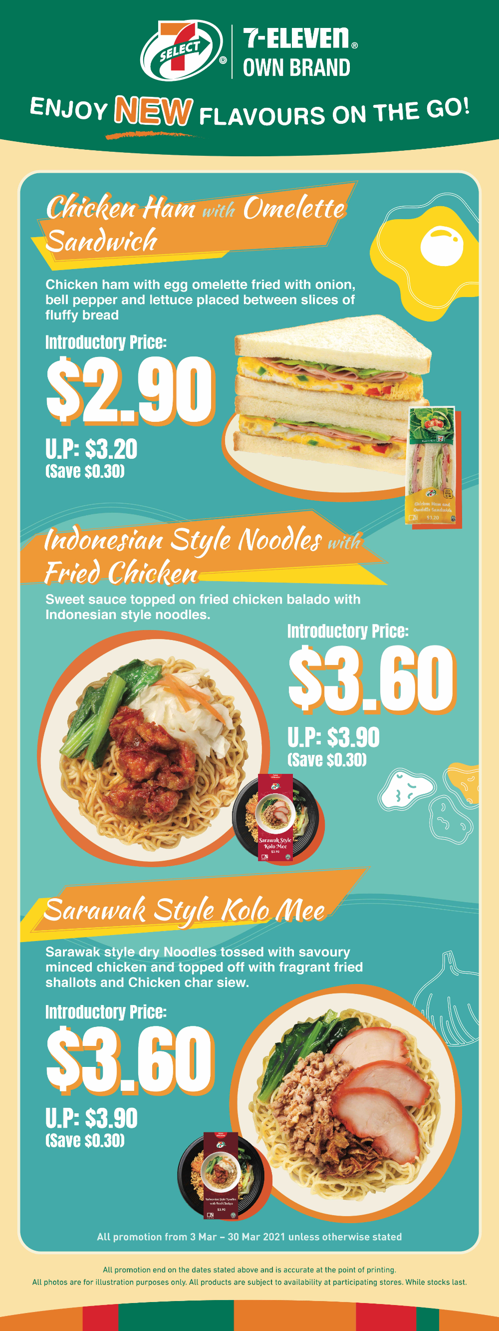 Taste the World with 7-Elevens Latest Additions to its Very Own 7-SELECT Ready-to-Eat Range. First Stop Southeast Asia