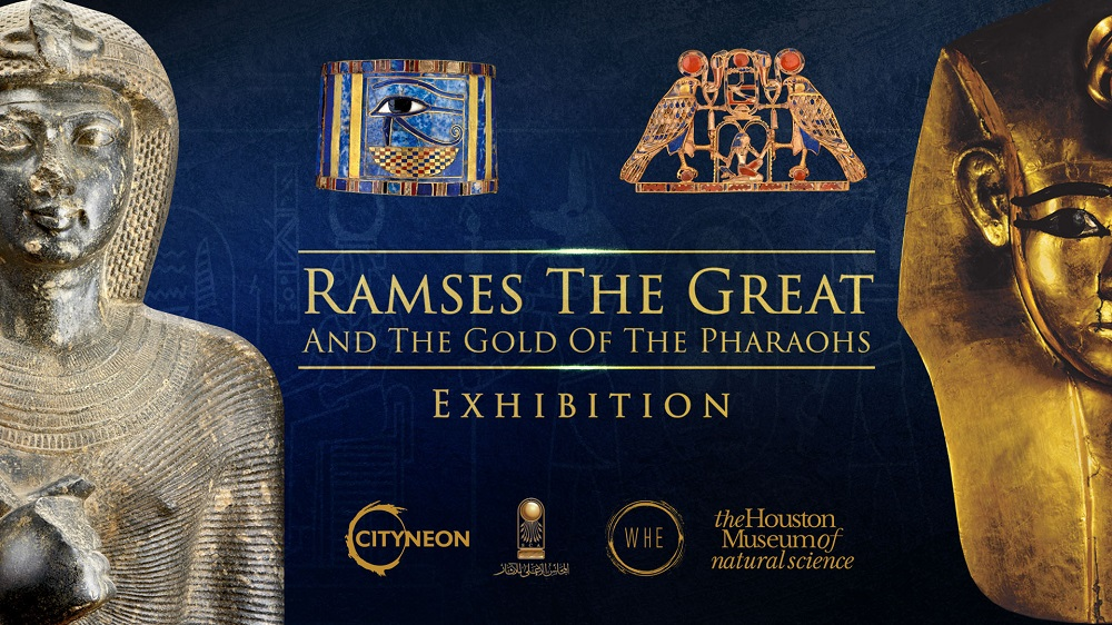 Cityneon to Tour Egyptian National Treasures Globally - Ramses The Great and the Gold of the Pharaohs