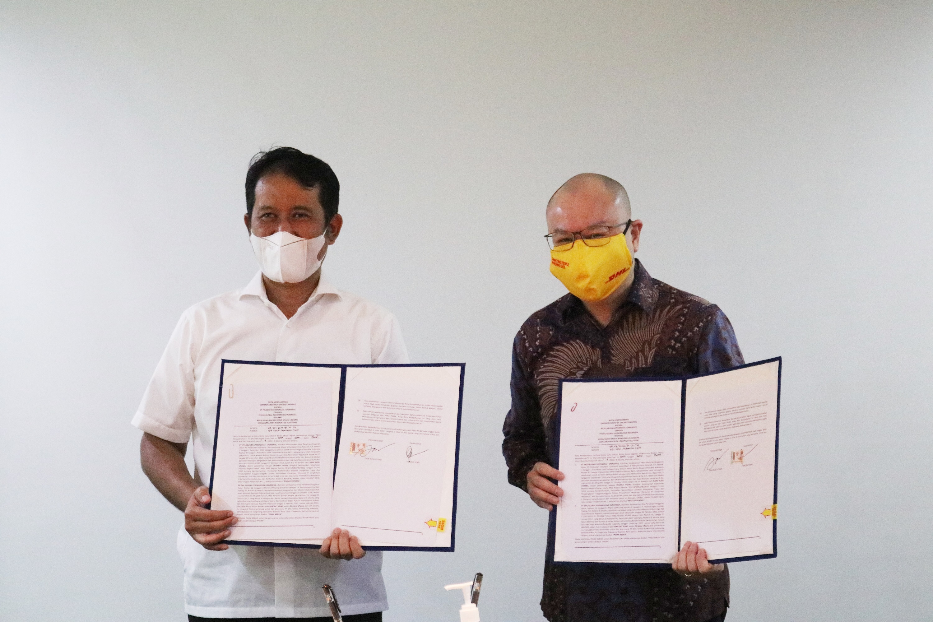 DHL Global Forwarding and Pelindo 1 Collaborate to Strengthen Logistics in Kuala Tanjung