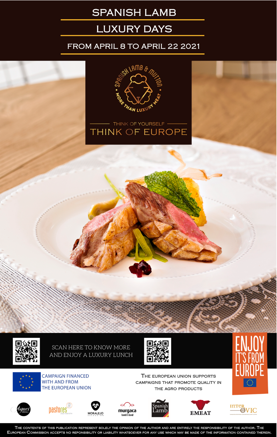 Agnei Iberico Stars in the Spanish Luxury Lamb Days in Hong Kong