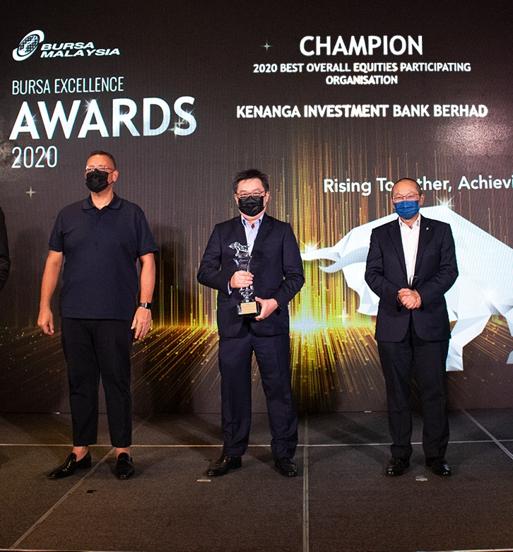 Kenanga Group Wins 7 Awards at The Bursa Excellence Event