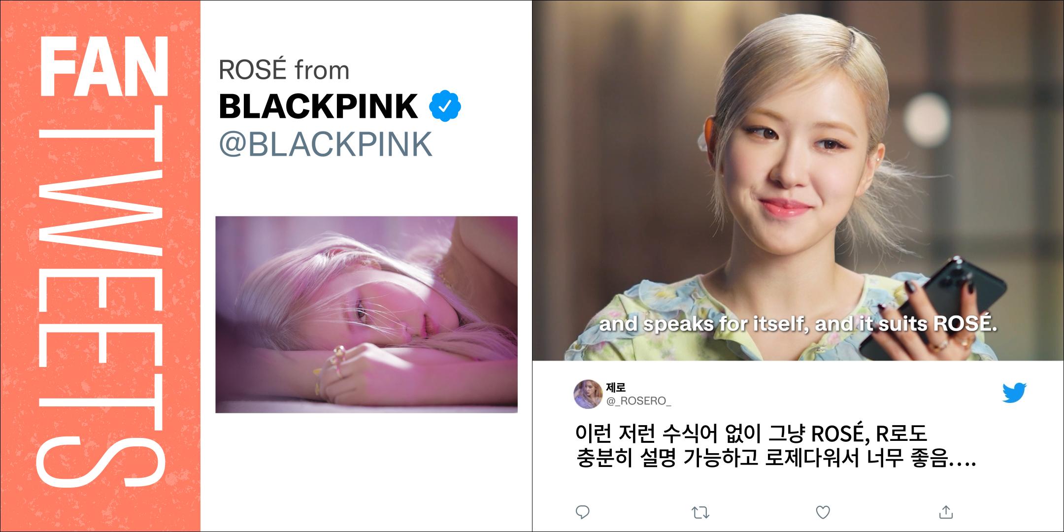 Twitter brings FanTweets to K-pop starting with BLACKPINKs ROSÉ