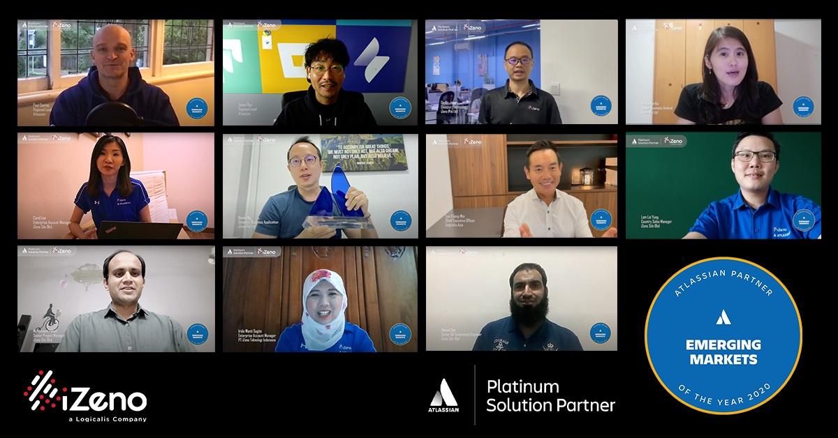 iZeno Receives Atlassian Partner of the Year 2020: Emerging Markets