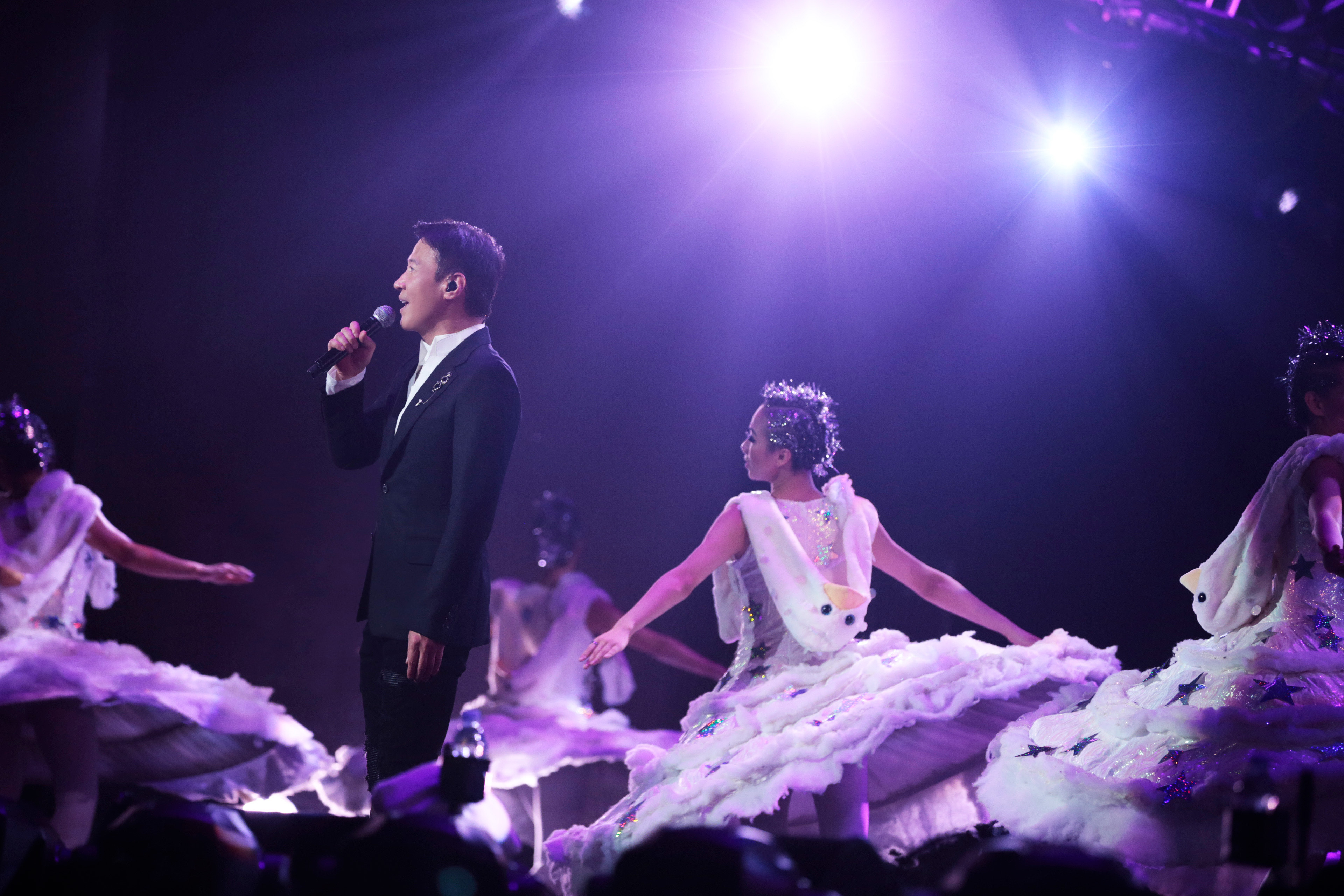 Melco announces Asias first ever residency show project with superstar headliners Aaron Kwok Joey Yung and Leon Lai