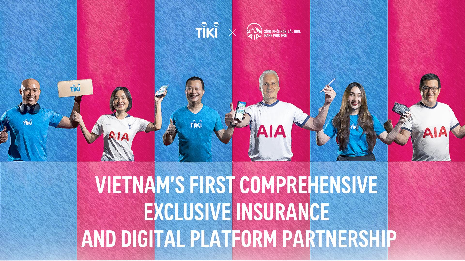 AIA Vietnam and Tiki announce Vietnams first comprehensive exclusive insurance and digital platform partnership