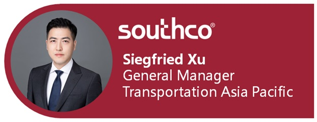 Southco Announces Siegfried Xu As Asia Pacific General Manager Transportation