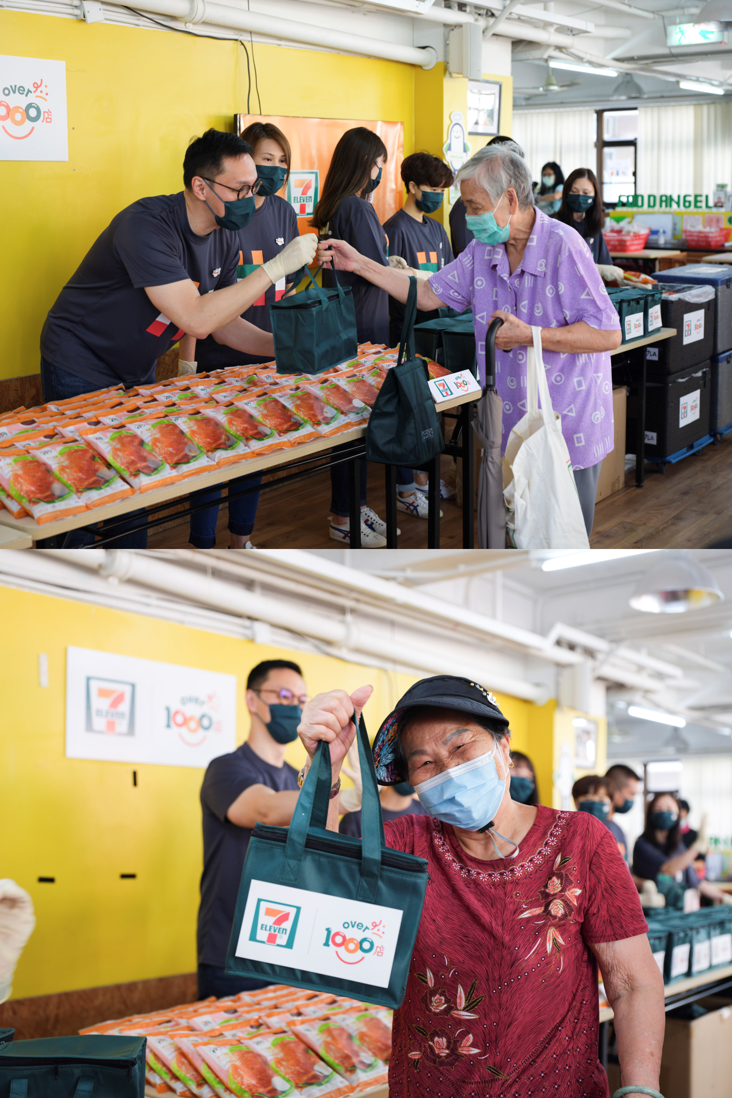 7-Eleven pledges to give 1000 7-SELECT chicken legs every week for 40 consecutive weeks to help those in need in Hong Kong