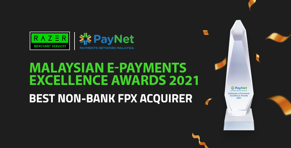 Razer Merchant Services Bags Best Non-Bank FPX Acquirer Award By Paynet For Industry Leading Growth