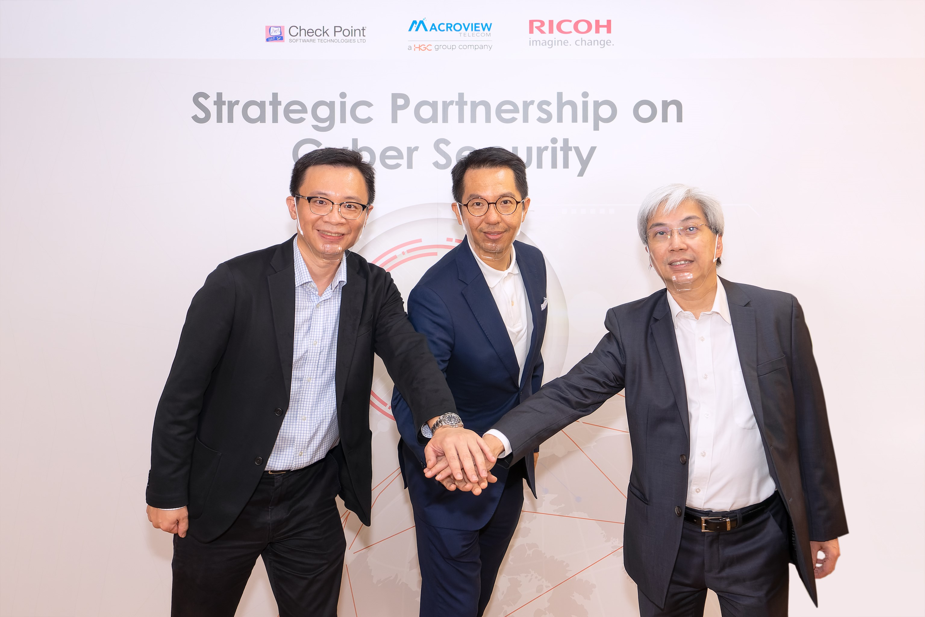 RICOH establishes strategic partnership with Macroview Telecom a HGC Group Company and Check Point