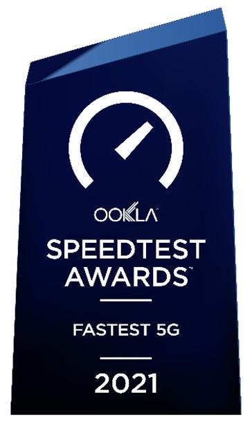 China Mobile Hong Kong Triumphs Hong Kongs Fastest 5G Network Award by Ookla®