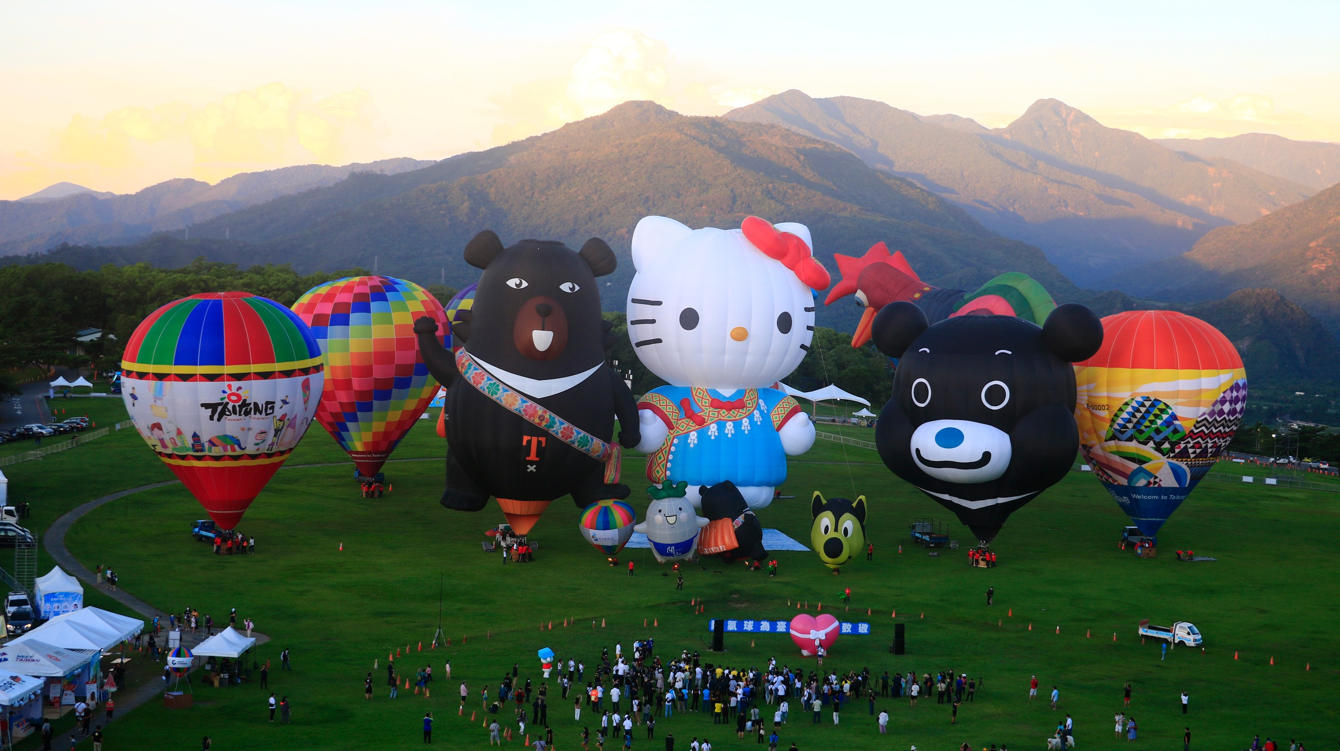 The 2021 Taiwan International Balloon Festival ends in great success