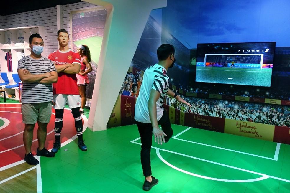 Madame Tussauds Singapore celebrates the returning of Cristiano Ronaldo to Manchester United