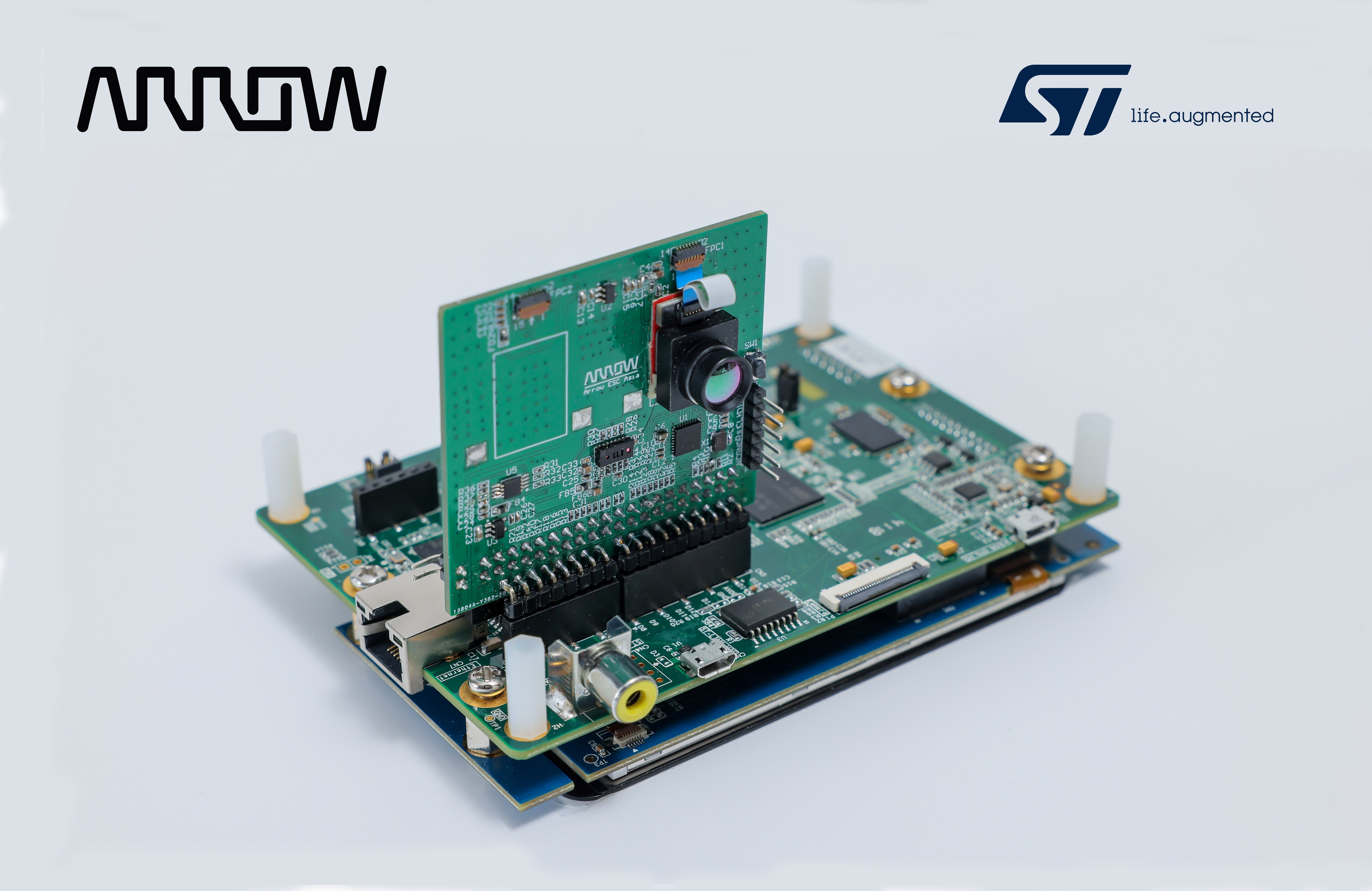 Arrow Electronics Launches AI Thermal Sensing Solution Powered by STMicroelectronics X-CUBE AI