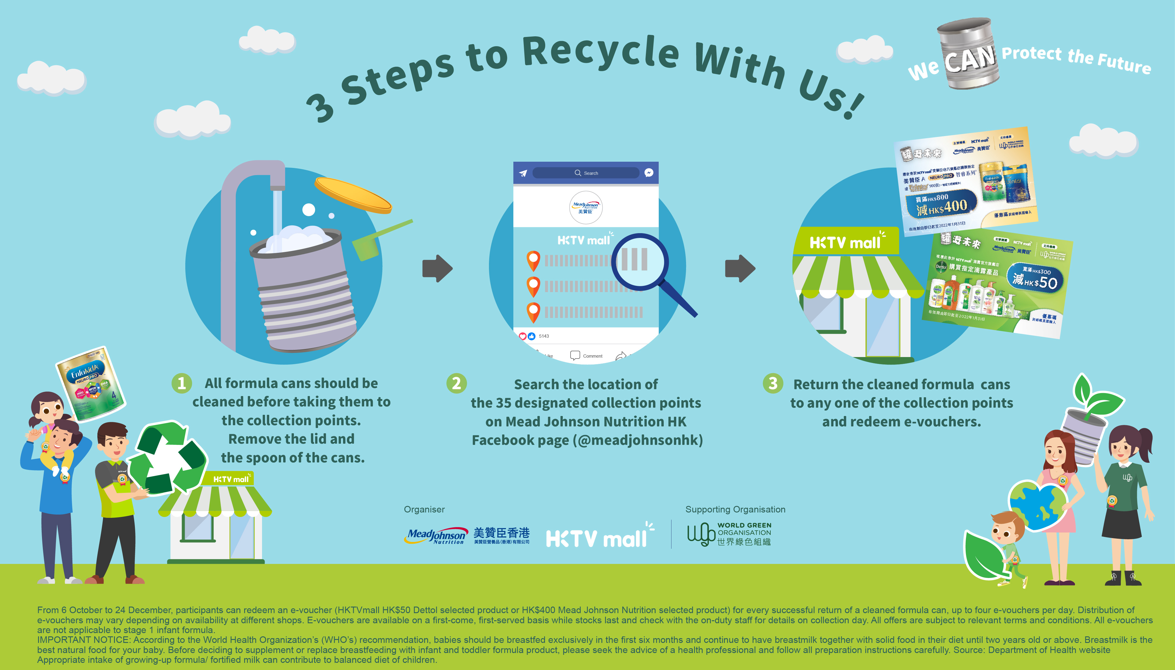 Mead Johnson Nutrition Hong Kong Launches Citywide Can Recycling Incentive Scheme