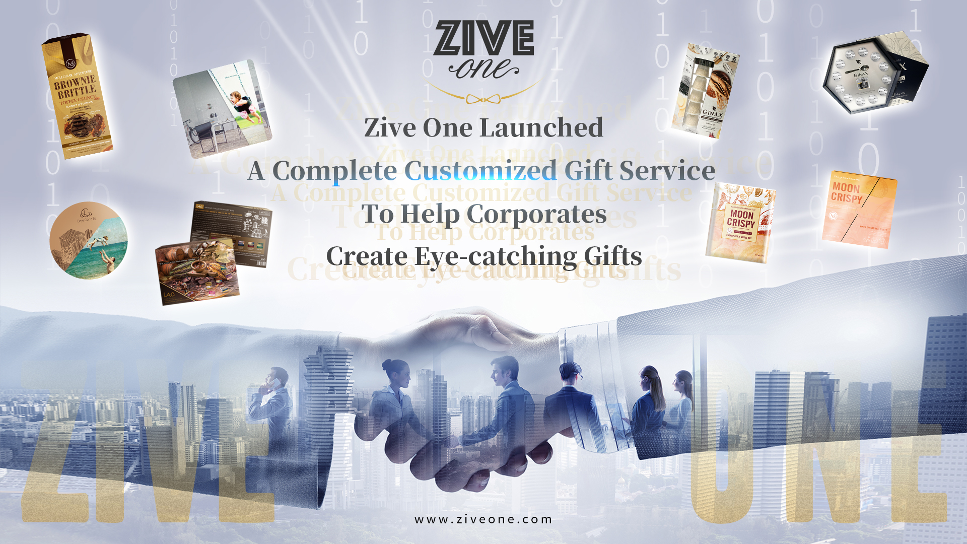 Zive One Launched A Complete Customized Gift Service To Help Corporates Create Eye-catching Gifts