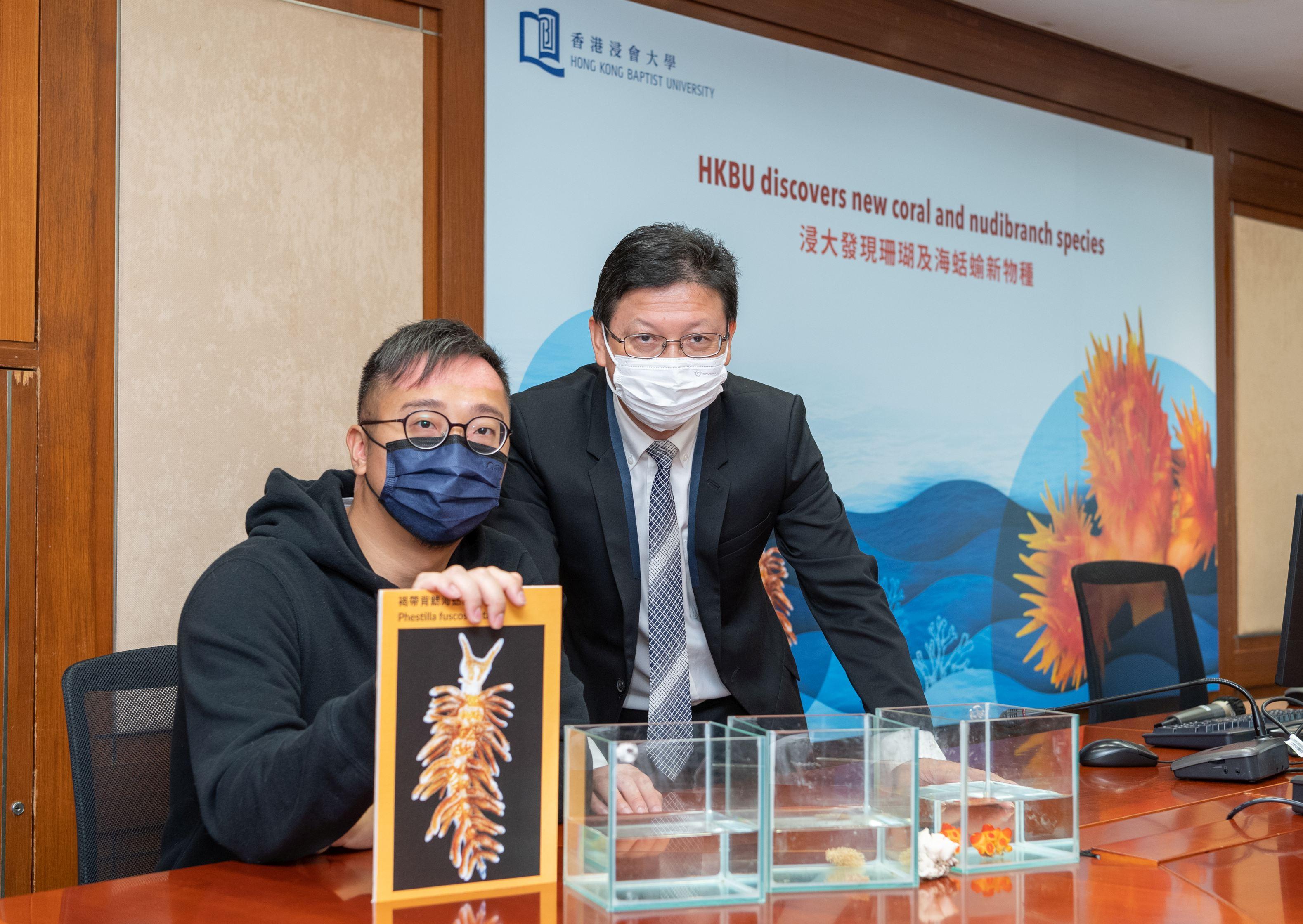 Hong Kong Baptist Universitys discovery of new coral and nudibranch species reflects Hong Kongs rich marine biodiversity