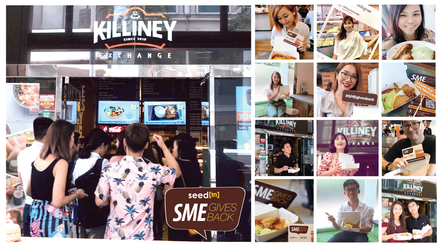 """Giving Back to The Community: RESALPHA PTE LTD (Franchisee of Killiney Exchange) and SEEDIN TECHNOLOGY Launched """"SME Gives Back: 100 Sets of Nasi Lemak"""" - Brand Spur"""