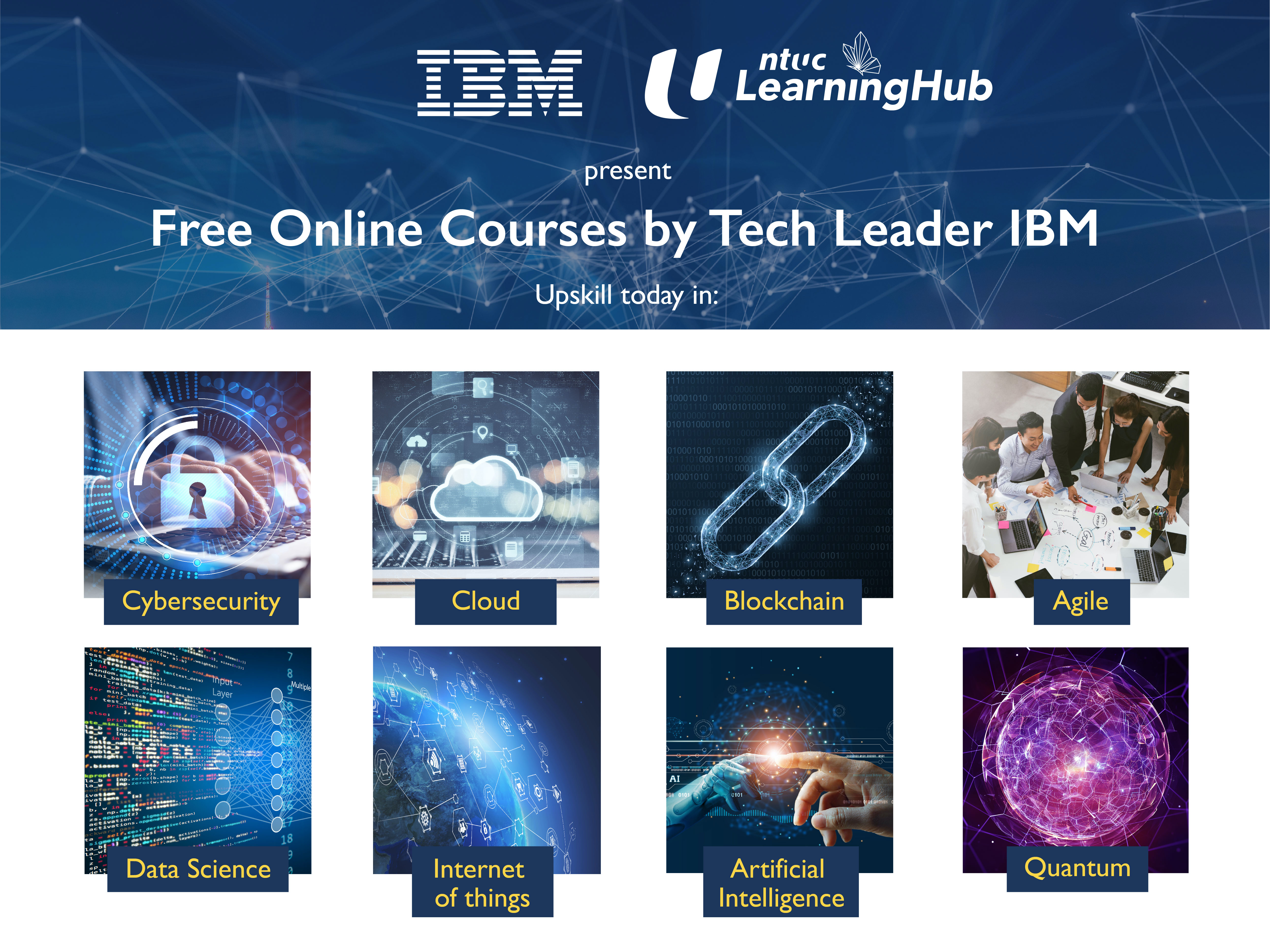 IBM Collaborates with NTUC Learninghub to Close Digital Skills Gaps in Singapore Through Free Online Courses in Technology