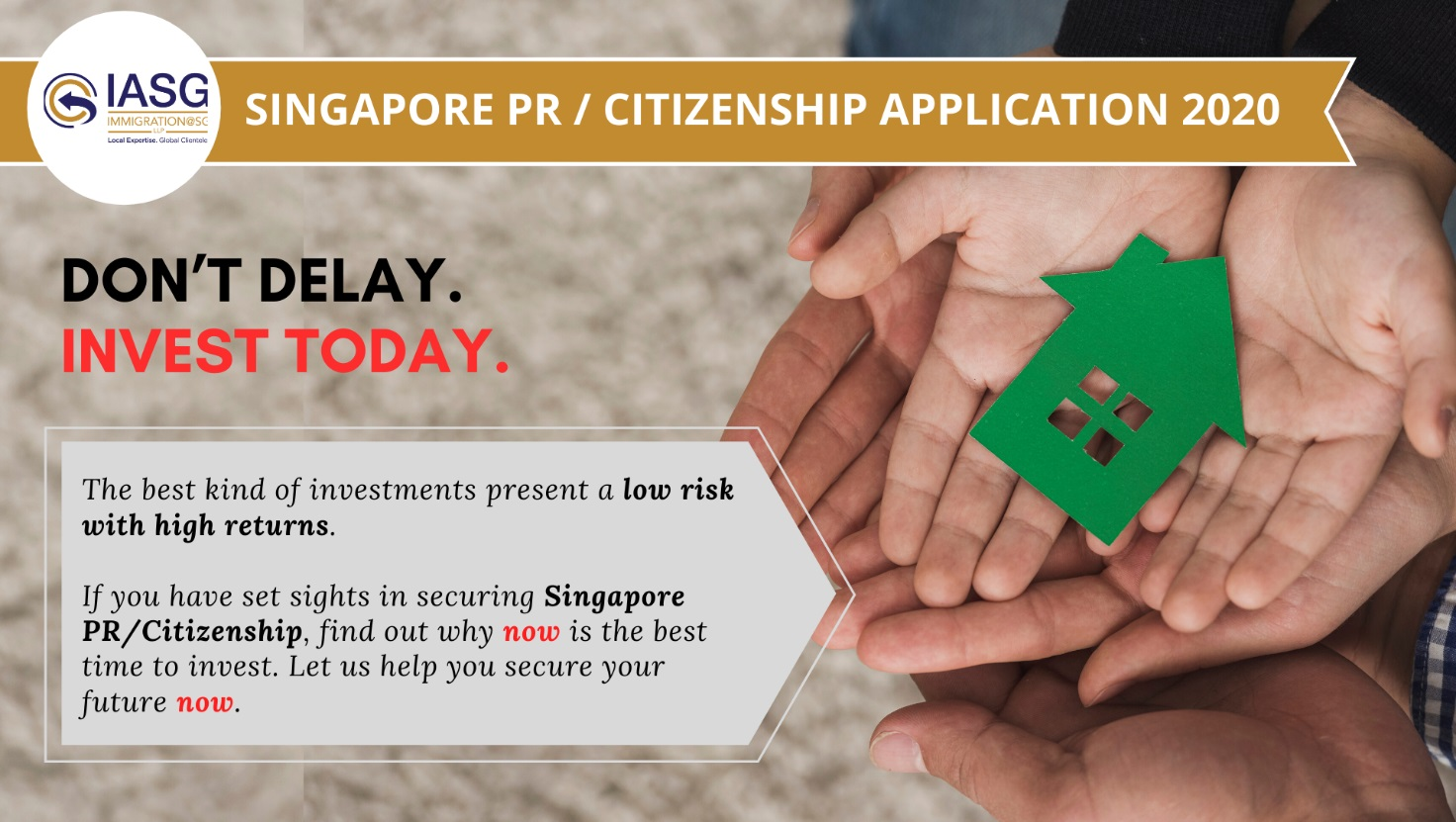 Apply and Secure Singapore Citizenship and Permanent Residency with IASG