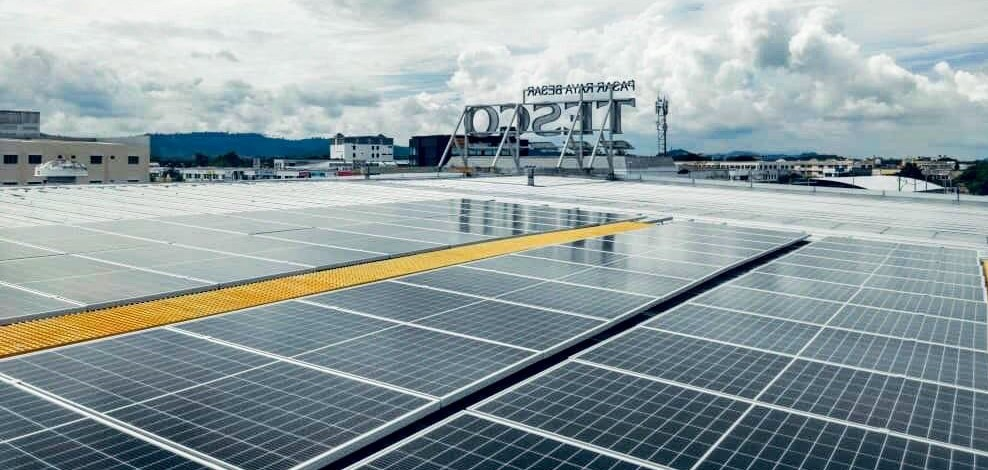 Tesco Malaysia Powers 15 Stores with Solar Energy