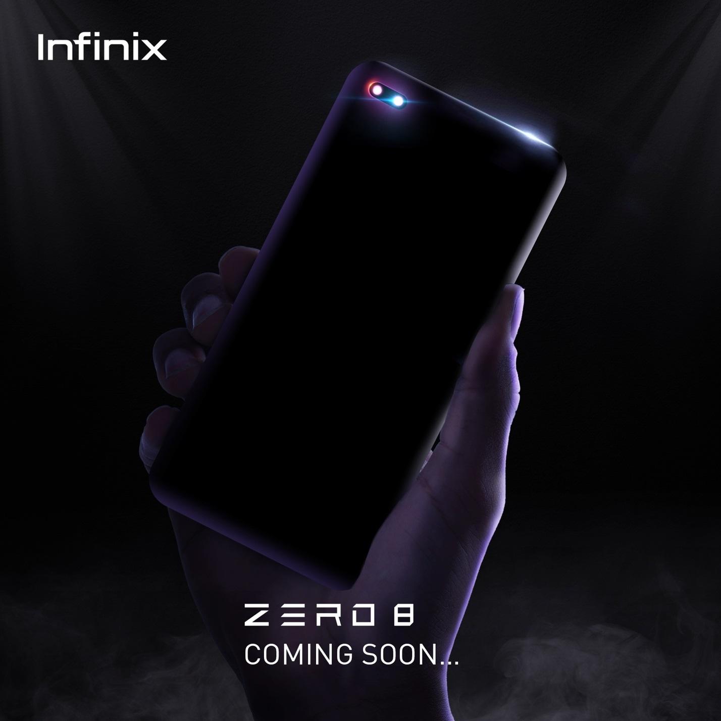 Infinix ZERO 8 and Infinix Smart TV coming soon