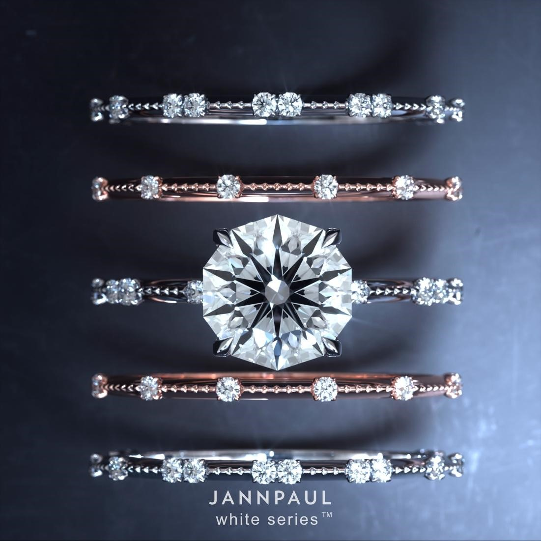JANNPAUL revolutionises the global diamond market with the Decagon 10 Hearts  Arrows Diamond