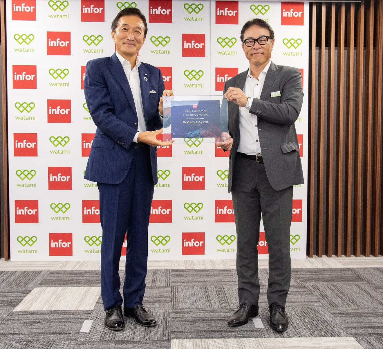 Watami Receives Infor Customer Excellence Award 2020 for Exceptional Use of Cloud Technology