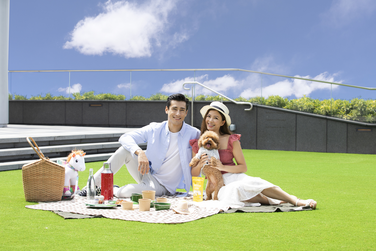 Brand New Pet-Friendly Amenities and Rooftop Lawn at Peak Galleria