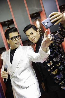 Lights, Camera, Action! Madame Tussauds Singapore launches the NEW Ultimate Film Star Experience with a live side-by-side with Karan Johar 2