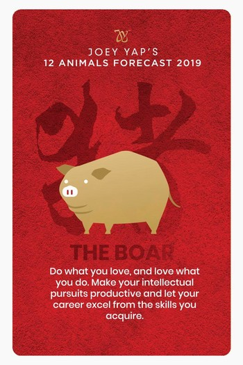 Dato' Joey Yap Illuminates on Forecasts for the Year of the Earth Boar