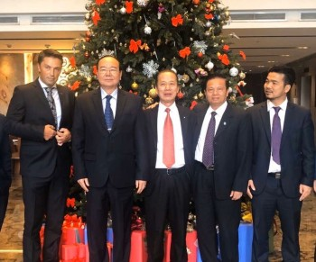 Billionaire Mai Vu Minh welcomed the assistant of Bosnia-Herzegovina President to pay an official visit to Vietnam