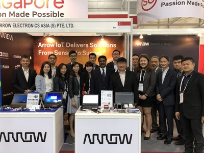 Arrow Electronics Offers Cloud-based Energy Management Solutions Powered by Narrowband IoT Connectivity for Utilities and Telecom Sectors at Singapore's Asia IoT 2018
