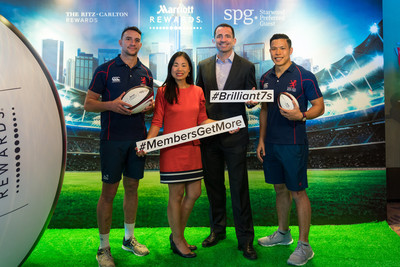 Marriott International's Best-In-Class Loyalty Programs Score With Once-In-A-Lifetime Experiences Exclusively For Members At HK SEVENS