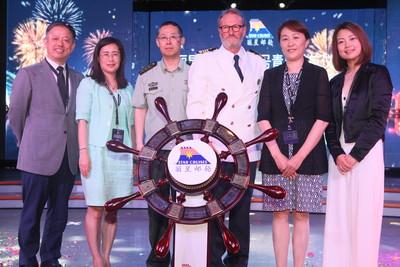 丽星邮轮创青岛母港邮轮运营新纪录