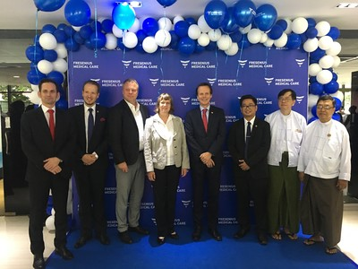 Fresenius Medical Care opens office in Myanmar to better address healthcare needs of the country