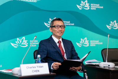 陳一丹博士應邀出席「東方經濟論壇」演講 分析教育全球趨勢的「三重推手」