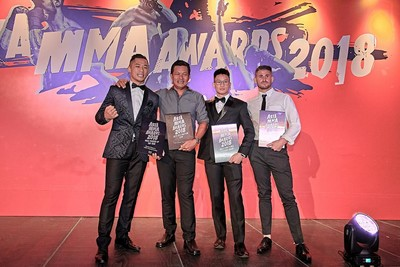 Asia MMA Awards Hail King and Queen of the Cage