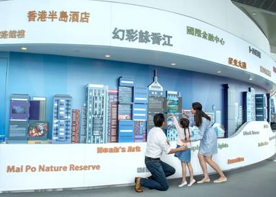 廣深港高鐵即將開通 直達天際100  帶您從高空感受香港精彩