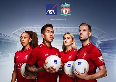 领先全球的保险公司AXA安盛成为利物浦合作伙伴一员